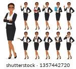 businesswoman character in... | Shutterstock .eps vector #1357442720