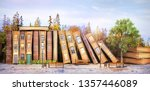 Library Concept. Fantasy...
