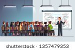 business man teacher coach... | Shutterstock .eps vector #1357479353