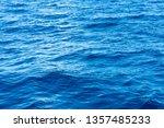 blue sea water background | Shutterstock . vector #1357485233