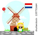Dutch Flag And Culture