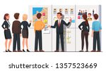 political campaign office... | Shutterstock .eps vector #1357523669