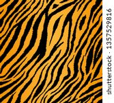 Tiger Stripe Tiling Pattern