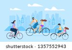 city active lifestyle is... | Shutterstock .eps vector #1357552943