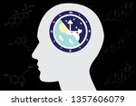 the circadian rhythms are... | Shutterstock .eps vector #1357606079