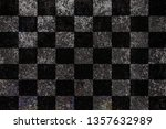 Checkered Flag Grunge Background