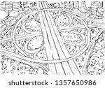 vector detail manual sketch...   Shutterstock .eps vector #1357650986