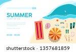 summer holiday vacation vector...