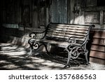 steel chairs placed in the... | Shutterstock . vector #1357686563