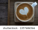 hot coffee all ready to drink... | Shutterstock . vector #1357686566