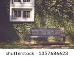 steel chairs placed in the... | Shutterstock . vector #1357686623