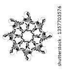 classic style mandala ornaments ...   Shutterstock . vector #1357703576