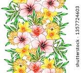 abstract elegance seamless... | Shutterstock .eps vector #1357724603