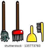 cartoon vector illustration of... | Shutterstock .eps vector #135773783