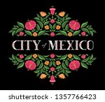 city of mexico  illustration... | Shutterstock .eps vector #1357766423