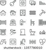 thin line vector icon set  ... | Shutterstock .eps vector #1357780010