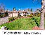 beautiful exterior of newly... | Shutterstock . vector #1357796033