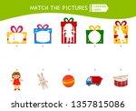 matching children educational... | Shutterstock .eps vector #1357815086