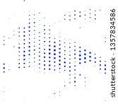 dark blue vector layout with... | Shutterstock .eps vector #1357834586