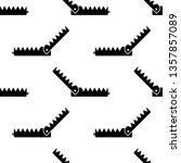 animal trap icon seamless... | Shutterstock .eps vector #1357857089