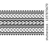 maori black and white texture... | Shutterstock .eps vector #1357870670