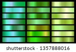 green ecology vector gradients... | Shutterstock .eps vector #1357888016