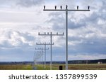 the approach lighting system of ... | Shutterstock . vector #1357899539