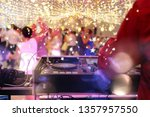 dancing couples during party or ... | Shutterstock . vector #1357957550