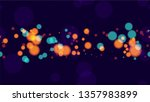blurred night lights seamless... | Shutterstock .eps vector #1357983899