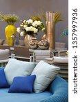 vertical interior living room...   Shutterstock . vector #1357997936