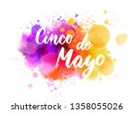 cinco de mayo holiday... | Shutterstock .eps vector #1358055026