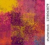 abstract texture. 2d... | Shutterstock . vector #1358063879