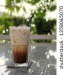 iced caramel macchiato   | Shutterstock . vector #1358065070