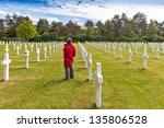 American Cemetery  Omaha Beach...