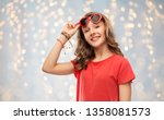 valentine's day  love and... | Shutterstock . vector #1358081573
