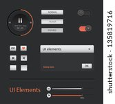 ui web elements  buttons ...