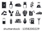 nature bio fuel icons set.... | Shutterstock .eps vector #1358200229
