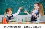 school laboratory partners.... | Shutterstock . vector #1358243606