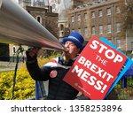 london  uk. 3rd april. one of... | Shutterstock . vector #1358253896