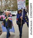 london  uk. 3rd april. one of... | Shutterstock . vector #1358253899