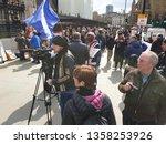 london  uk. 3rd april. one of... | Shutterstock . vector #1358253926
