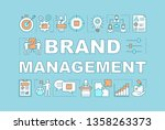 brand management word concepts...