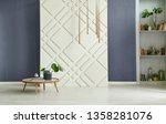 modern room  decorative... | Shutterstock . vector #1358281076