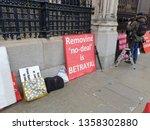 london  england. 3rd april 2019.... | Shutterstock . vector #1358302880