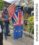 london  england. 3rd april 2019.... | Shutterstock . vector #1358302910