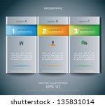 vector web elements | Shutterstock .eps vector #135831014