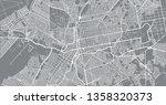 urban vector city map of campo... | Shutterstock .eps vector #1358320373