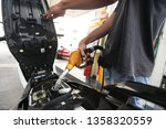 23 march 2019. petrol station... | Shutterstock . vector #1358320559