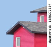 detail of the rooftops of the... | Shutterstock . vector #1358371889