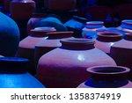 Back Earthen Pots For Cooling...